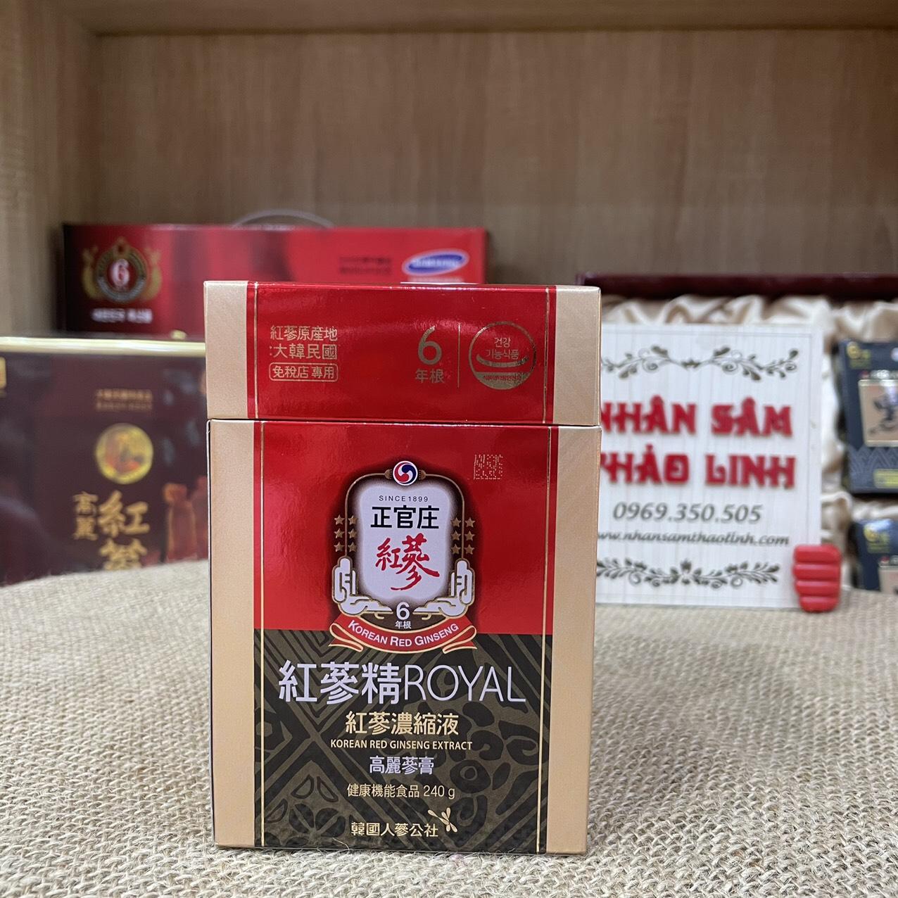 Cao hồng sâm KGC Nội Địa  Royal 240gr Chính Phủ Hàn Quốc