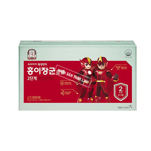 Nước hồng sâm Baby KGC - Cheong Kwan Jang Kid Tonic 2 hộp 30 gói x 20ml