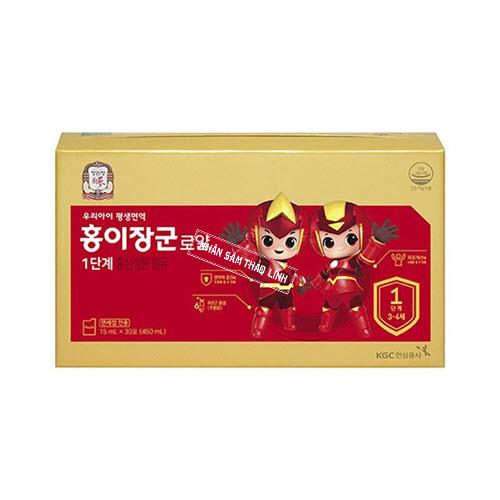 Nước hồng sâm Baby KGC - Cheong Kwan Jang Angel số 1 hộp 30 gói x 20ml