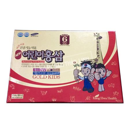 Nước hồng sâm Baby Kanghwa Gold Kids hộp 30 gói x 20ml