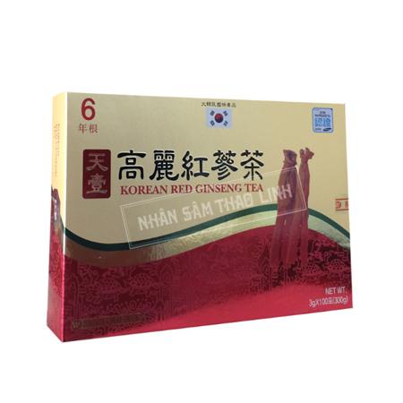 Trà hồng sâm Dongwon hộp 100 gói