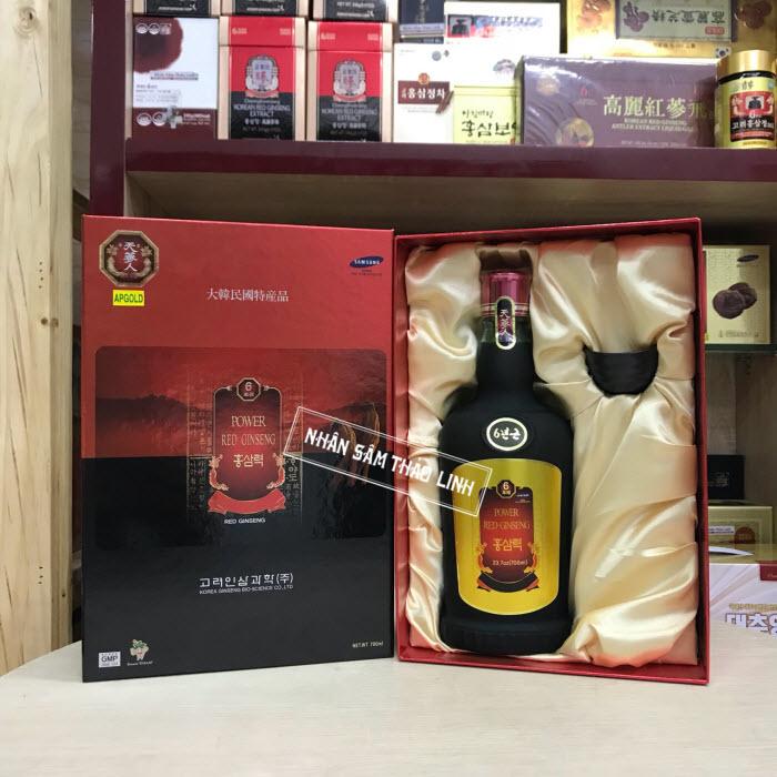 Nước Hồng Sâm Bio Apgold hộp 1 chai x 700ml