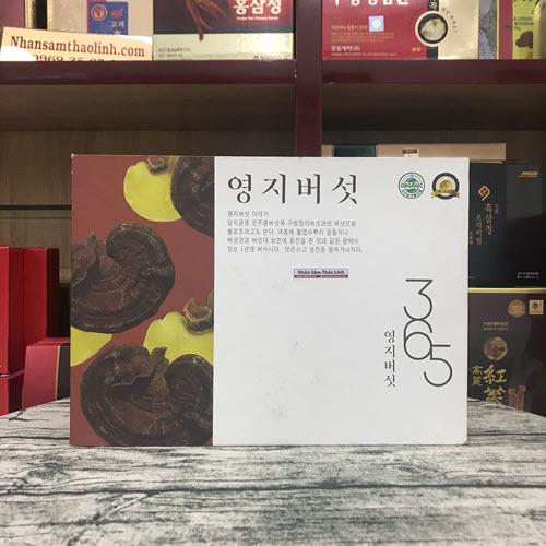 Nấm linh chi vàng 365 Hàn Quốc thượng hạng hộp 1kg