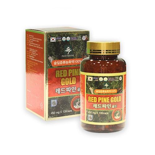 Viên tinh dầu thông đỏ Red Pine Gold hộp 100 viên